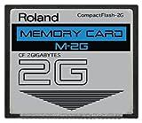 2GB Roland M-2G CompactFlash CF Memory Card SP-555, V-Synth, Fantom and more.