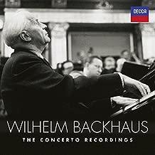 Wilhelm Backhaus: The Concerto Recordings