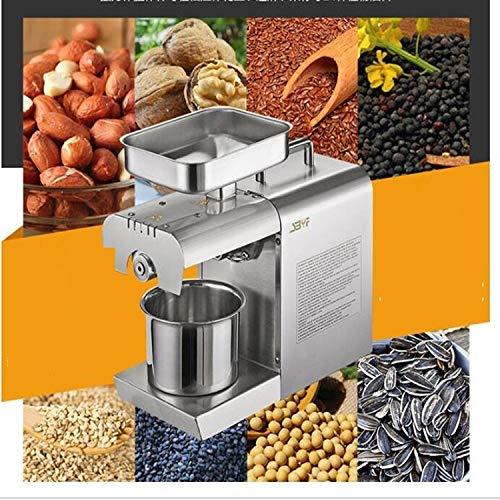 Tuzi QiuGe Seed Ölpresse Edelstahl kommerzieller Haushalt automatische Erdnuss Kokosnuss Sesamöl Presse 40x36.5x16cm