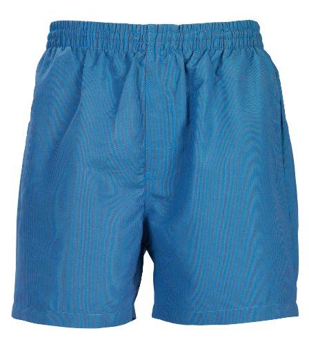 Olibia Mar Zwemshort voor heren, petrol of zwart/grijs, met krijtstreep