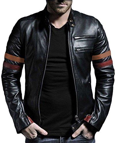 Men's Leather Jackets Tan