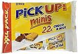 Leibniz PiCK UP! Minis XXL Choco & Milk, Mini-Butterkekse mit Schokoladentafel und Milchcreme...