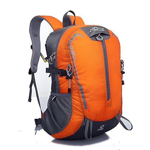 Diamond Candy Zaino da Trekking Outdoor Donna e Uomo con Protezione Impermeabile per alpinismo arrampicata equitazione ad Alta Capacitš€ borsa da viaggio,Multifunzione, 32 litri Arancione