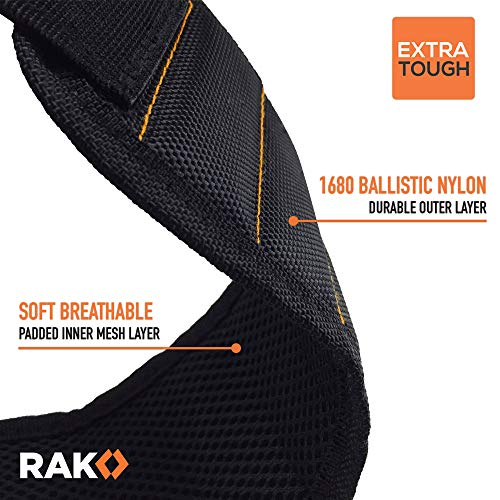 Product Image 3: RAK Magnetic Wristband with Strong Magnets for Holding Screws, Nails, Drill Bits for DIY Handyman, Father/Dad, Husband, Boyfriend, Him, Men, Women (Black)