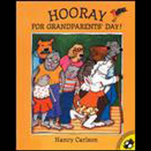 Hooray for Grandparents Day audiobook cover art