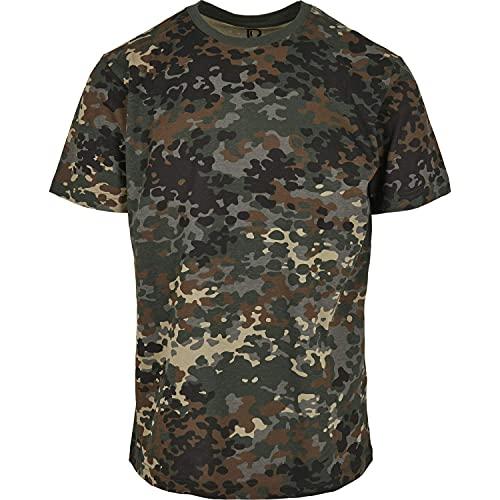 Brandit Camiseta, Muchos (Tarn Colores, Tallas S hasta 7XL - Flecos Camuflaje, 5XL