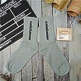 ROUNDER Calcetines Hombre y Mujer Calabasas Calcetines Deportivos con Fondo de Toalla Talla única-Azul