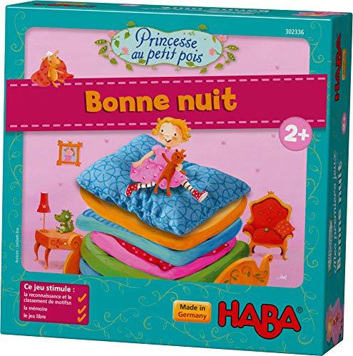 HABA-Mes Premiers Jeux Princesse au Petit Pois Bonne Nuit, 302336