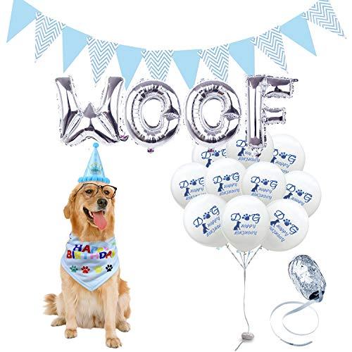 AK KYC - Bandana de cumpleaños para Perro, diseño de Bandana y...