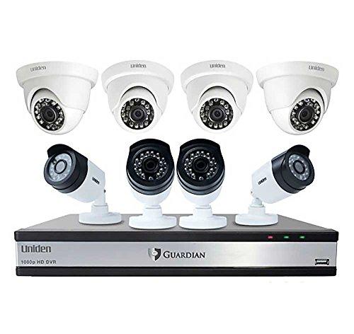 Uniden Guardian DVR Wired Video Surveillance System
