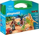 PLAYMOBIL- Maletín Grande Dinosaurios y Explorador (70369)