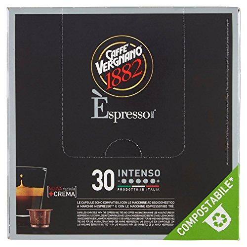 Caffè Vergnano 1882 Èspresso1882 Inteso - 30 Capsule - Compatibili Nespresso