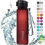 """720°DGREE Trinkflasche """"uberBottle"""" softTouch +Sieb - 650ml - BPA-Frei - Auslaufsichere..."""