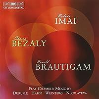 シャロン・ベザリーと今井信子、夢の共演 (Chamber Music Bezaly Imai Brautigam)