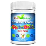 Electrolyte Powder - Refreshing Workout Recovery Electrolytes, All Natural, Sugar Free, Gluten Free & Vegan, Pure Keto & Paleo Hydration Beverage, Immune Boosting Vitamins (198 grams, Berry Flavor)