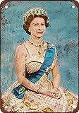 Froy 1954 Queen Elizabeth Ii Wand Blechschild Retro Eisen