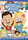 Bendon Wacky Faces Create-A-Face Sticker Book