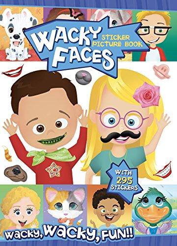 Bendon Wacky Faces Create-A-Face Sticker Pad 13491
