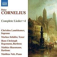 Cornelius: Lieder Vol 4