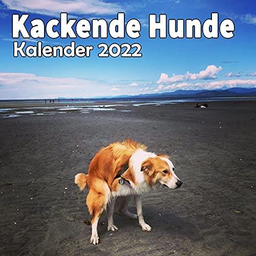 Kackende Hunde Kalender 2022: Lustige Geschenke für Hundeliebhaber, Weihnachten, Geburtstag, Hundebesitzer