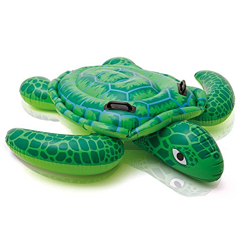 Intex Lil' Sea Turtle Ride-On, 59' X 50', for Ages 3+