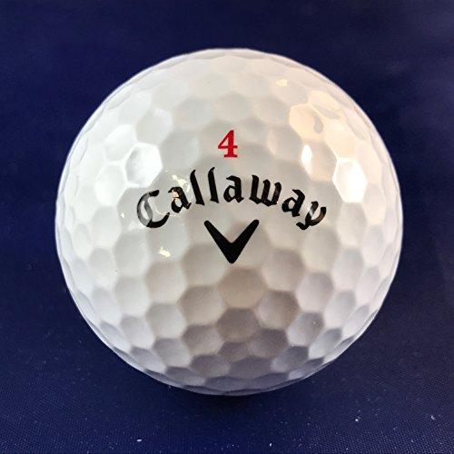 gebrauchtegolfbaelle.de 100 Callaway Chrome Golfbälle AAAA - AAA HEX Soft Lakeballs Markengolfbälle