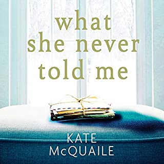 What She Never Told Me                   By:                                                                                                                                 Kate McQuaile                               Narrated by:                                                                                                                                 Deirdre O'Connell                      Length: 10 hrs and 1 min     18 ratings     Overall 3.9