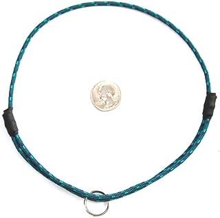 "National Leash Mountain Rope Dog ID Collar- Glacier- Medium (14""-20"") Ultra Lite"