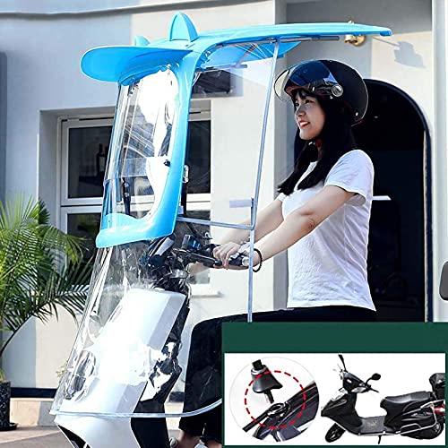 SHUAIGE Scooter Eléctrico Sellado Paraguas Toldo Toldo Impermeable Movilidad Universal Sol Sombra...