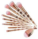 LIANMIBA Kosmetika 11 stücke Make-up Pinsel Set Foundation Mischungskraft Eyeschadow Kontur Concealer Blush Cosmetic Beauty Make up (Handle Color : 11pc)