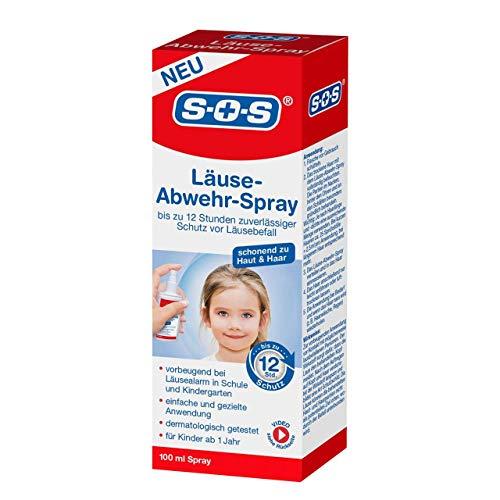 günstig SOS-Läusespray, vorbeugendes Läusespray, bis zu 12 Stunden… Vergleich im Deutschland