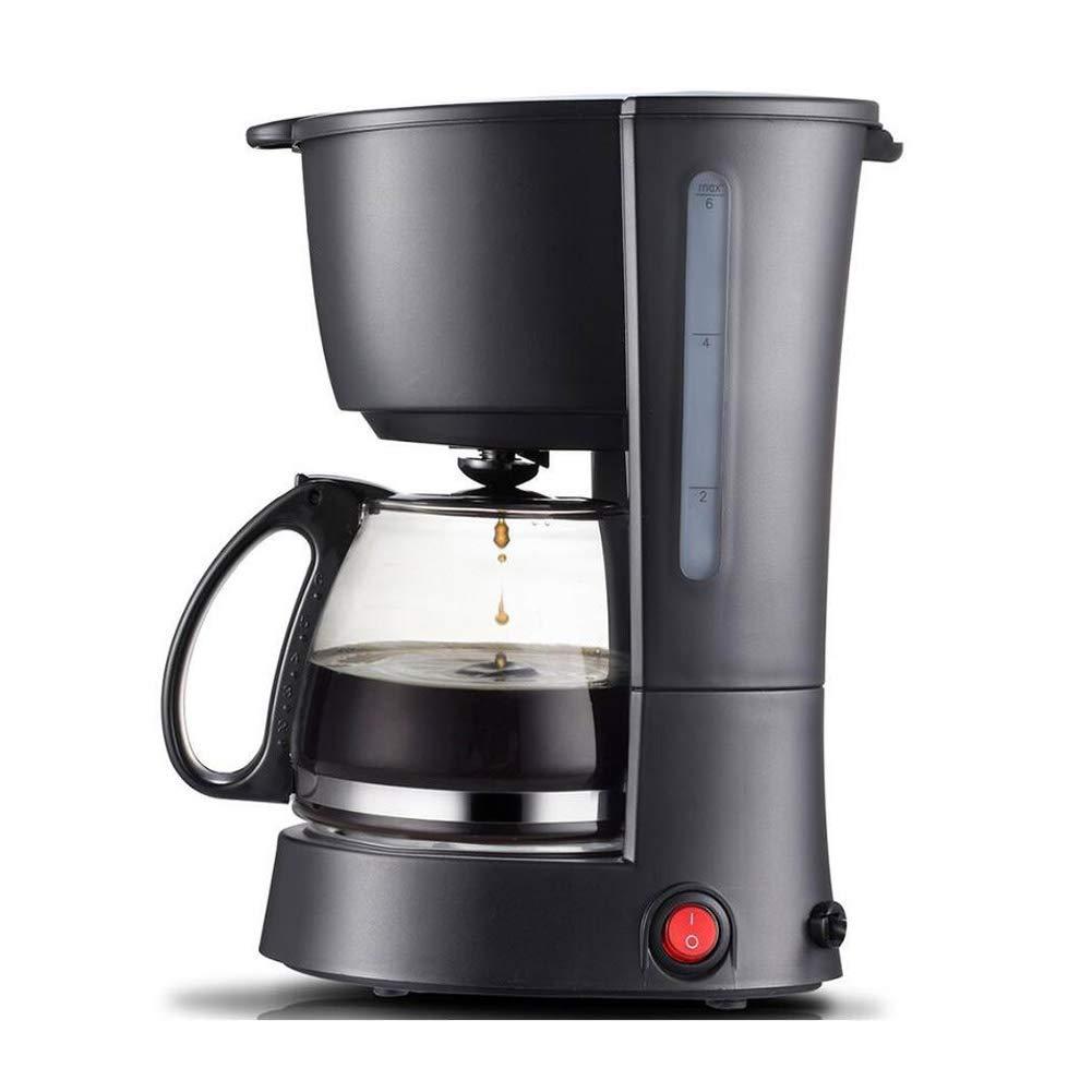 Filtro De Máquina De Café, 700 Ml (3-4 Tazas) Mini Cafetera Automática Programable Pequeña, Negro: Amazon.es: Jardín