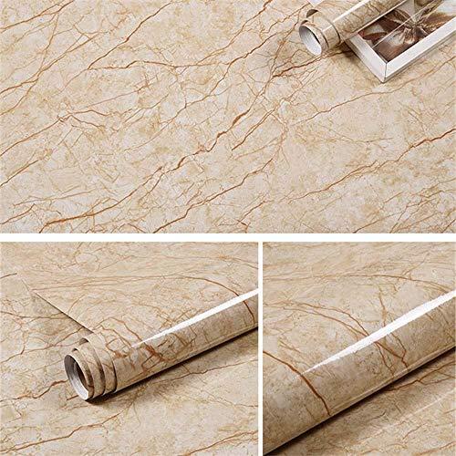 Etiqueta engomada autoadhesiva del papel pintado del patrón de mármol de los 60cmX3m, etiqueta engomada del azulejo del papel pintado de la puerta del gabinete de la estufa de la mesa de comedor-8