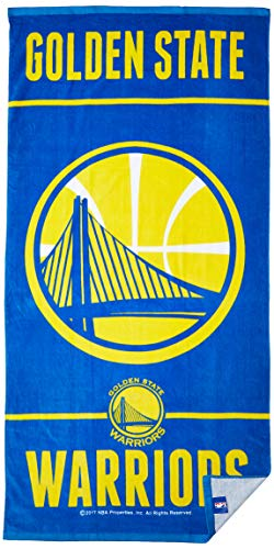 NBA Golden State Warriors Toalla de Playa de Fibra, 10 libras/20 x 60 Pulgadas