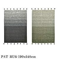 ラグ PAT rug 190×240cm マット 絨毯 じゅうたん カーペット KA