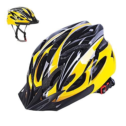 Athyior Casco Bici Uomo Donna Leggero Casco da Bicicletta 57-63cm Bike Helmet Regolabile per Ciclismo Skateboard Pattini Adulti Adolescenti