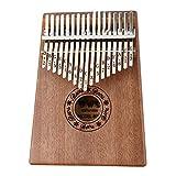 HIOD 8 Teclas Mini Kalimba Thumb Piano Mbira Madera Maciza para Principiantes