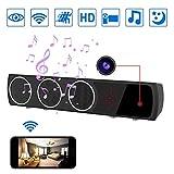 LITSPED WiFi Hidden Spy Camera Bluetooth Speaker Surveillance Camcorder with 33ft Night Vision
