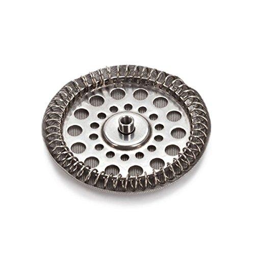 Alessi Filter-Gruppe für Pressfilter-Kaffeezubereiter 9094/8, Edelstahl, Silber, 24.5 x 10.5 x 4.5 cm