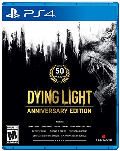 Dying Light Anniversary Edition for PlayStation 4 [USA]