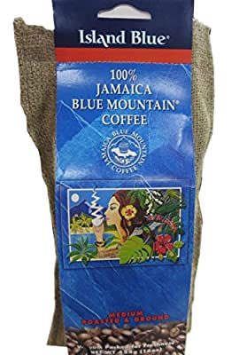 Island Blue -100% Jamaica Blue Mountain Coffee - Grounds