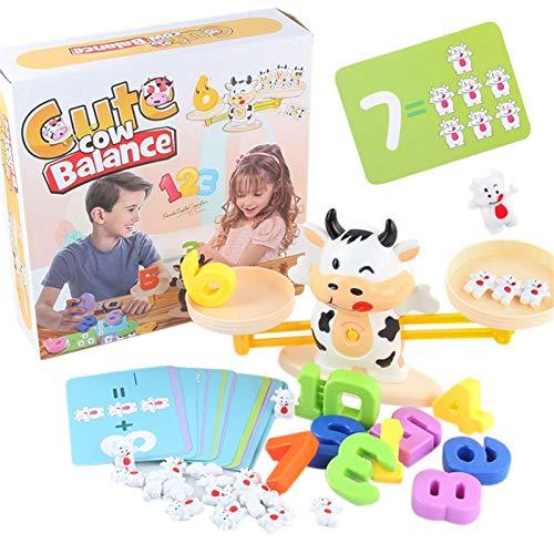 Juguete para aprender a números, juego Stem para niños a partir de 3 años, juguete educativo para niños y niñas