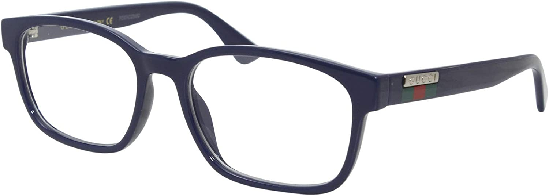 Gucci GG0749O Blue 55 Now free shipping 18 Boston Mall 145 Eyewear men Frame