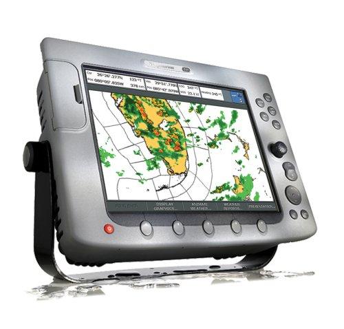 Raymarine E02013 E120 12.1-inch Waterproof Navigation Display and Marine GPS/Chartplotter With Fishfinder