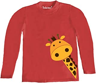 Inda-Bayi Baby-Toddler-Kids Cotton Long Sleeve T Shirt Pumpkin