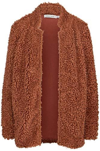 Bishop & Young Faux Fur Jacket Copper