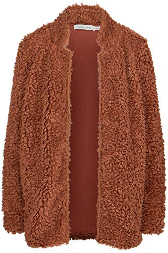 Bishop & Young Faux Fur Jacket Copper