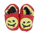 HEBA-Germany–Zapatos para gatear Smiley rojo rosso Talla:24/25