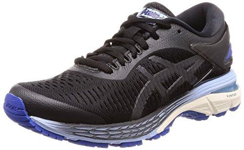 Asics Gel-kayano 25, Women's Running Shoes, Black (Black/Asics Blue 001), 3.5 UK (36 EU)