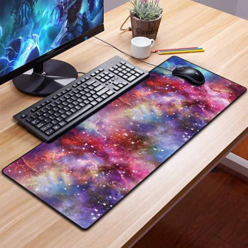 Alfombrilla de ratón de Anime Reproductor de Juegos Lavable Teclado para computadora Teclado para computadora de Mouse Juego de PC El Mejor Juego de computadora para Anime Fresco 4 900x300x2